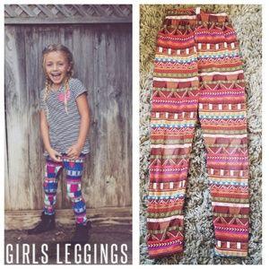 LULAROE GIRLS L/XL LEGGINGS